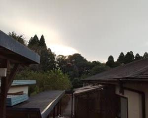 今朝の天気