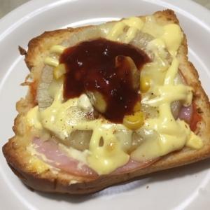 パイナップルチーズトースト