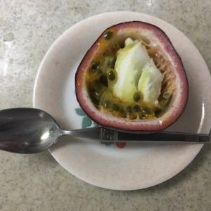 パッションフルーツの食べ方<br />