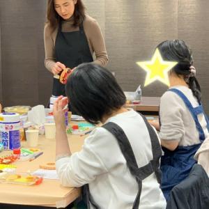 「大人のためのフェイクスイーツ」講座♪10月期3回目@新宿伊勢丹OTOMANA