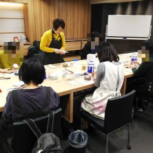 「大人のためのフェイクスイーツ」講座♪1月期全3回@新宿伊勢丹OTOMANA