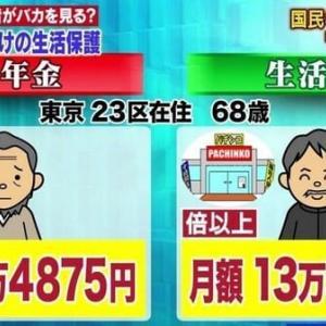 【生活保護】と国民年金