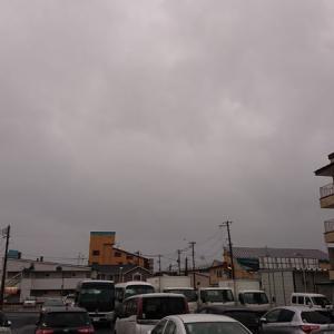 灰色の空~2日=憂鬱!