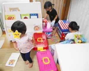 2歳児さん達の楽しみ♪