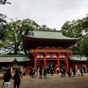 大宮氷川神社と氷川だんご屋さん♪