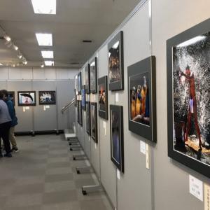 レベルの高い約160点の「二科会神奈川写真展」。