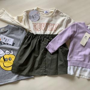 ベビーザらスでお買い物とサイズアウトした服の収納法。