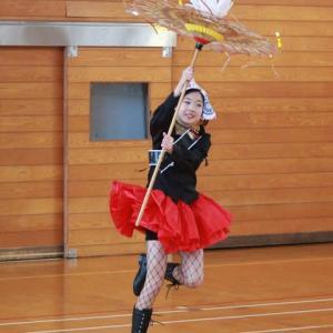 傘踊りバージョンで💕