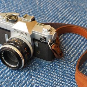 【使い方】面倒だけどしあわせで、フィルムカメラ【CANON FX】