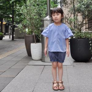 La-suilaさんの新作 布帛Tシャツ モニター写真