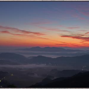 小村峠からの雲海