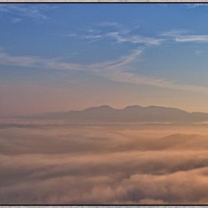 小村峠からの雲海  2