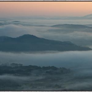 小村峠からの雲海  3