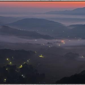 小村峠からの風景