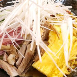 「ラーメン さんぱち」の夏限定メニュー・ネギ辛味噌冷やしラーメン&ギョーザ
