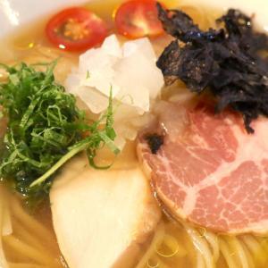 西原「らぁ麺 やな木」でひんやり美味しい冷やし煮干しらぁ麺