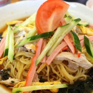 小禄「チャイニーズキッチン 金龍」で町中華的な冷やし中華&若鶏のカレーソース