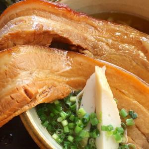 儀保「沖縄そば専門店 きんそば」でドデカイお肉の三枚肉そばとオトクなセット