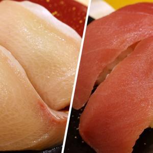 仙台「回転寿司 にぎりの徳兵衛」で紅白トロネタ食べ比べ