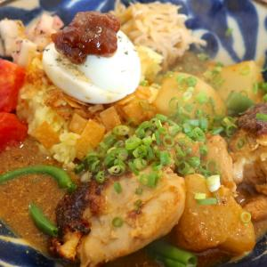 「タマニカレー」の味噌漬けチキンカレーはチキンゴロゴロってレベルじゃなかった!