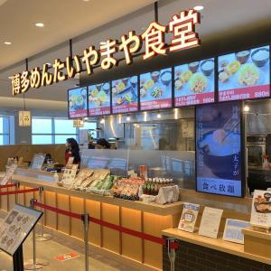 浦添 パルコシティ「博多めんたい やまや食堂」でジェネリックな博多を楽しむ
