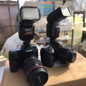 2台のカメラで。
