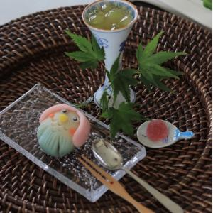 タイムリー和菓子~アマビエの練り切り@夏を愉しむおもてなし☆