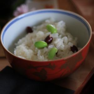 """秋を味わう""""萩ご飯""""☆"""