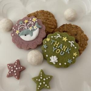 刺繍のようなアイシングクッキー(Embroidery Icing Cookies)☆