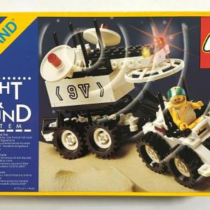 ★手持ちのパーツを使ってLEGO宇宙シリーズ #6770【Lunar Transporter Patroller】を出来る限り再現してみました~ww!の巻