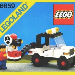 ★LEGO街シリーズ 6659【カメラワゴン車】を作ってみたんですが・・・(;´▽`A``!の巻