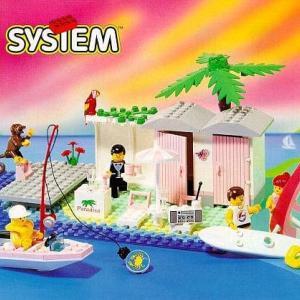 ★やっとLEGO PARADISAシリーズ#6410【Cabana Beach】(和名:ビーチハウス)をGETできました~ww!!の巻