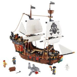 ★LEGOクリエイター31109の海賊船をnagisaアレンジで作りますwww!の巻