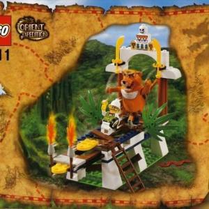 ★LEGO世界の冒険シリーズより、7411【虎の神タイグラーの叫び】をgetしました〜!の巻