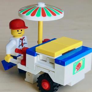 ★完全体の更にその先へ!〜LEGO街シリーズ6601アイスクリームスタンド物語www!の巻