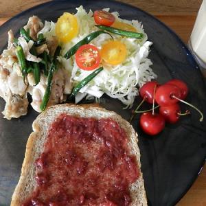 コロナ禍でも何とか仕事は持ち堪えられるか&今朝の朝食は自家製いちごジャムトースト