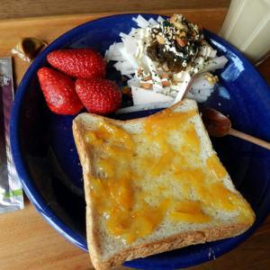外出できないストレスを家の片付けに変換するための朝食