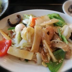 久しぶりの外食ランチは中華で