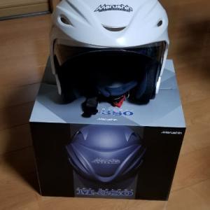 以前お勧めしていたスーパーカブに似合うと思うヘルメットを購入しました。