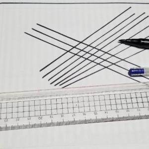 溝引き定規とガラス棒が欲しくなった!