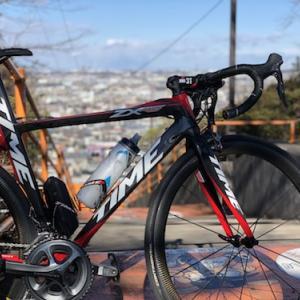 【ロードバイク】ランド坂20本 64km + お年賀ライド 49km