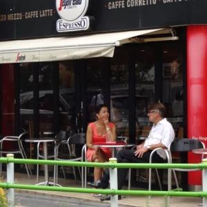セガフレードサネッティー 広尾店 ある日の風景
