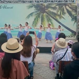 可愛いいフラダンスショー at  恵比寿ガーデンプレイス
