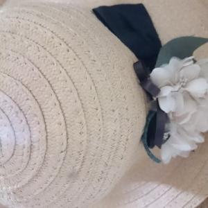 ☆ 夏の帽子と お花のコサージュ ☆
