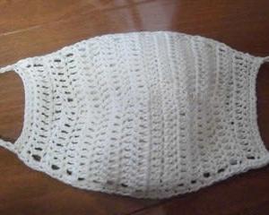 編み物でマスク