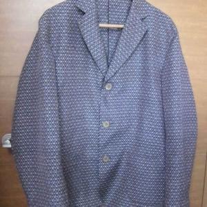 着物リメイクでジャケット
