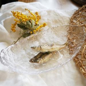 初夏に向かう、稚鮎の白たまり山椒煮
