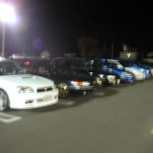 並んだ、スバル車に興味をもって!