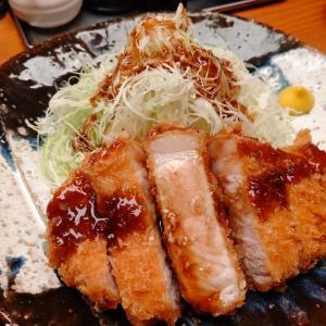ひなた@高田馬場 トンカツはご馳走!特選ロースカツ定食を食べる!