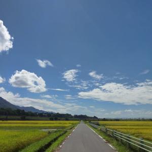 夏と秋の間にて ~安曇野~